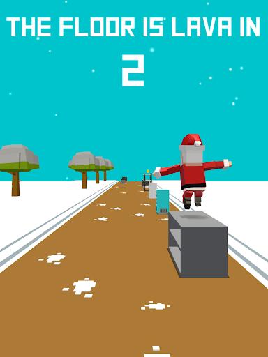 Xmas Floor is Lava !!! Christmas holiday fun ! apkpoly screenshots 14