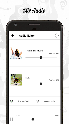 Audio Editor : Cut,Merge,Mix Extract Convert Audio 1.22 Screenshots 2