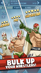The Muscle Hustle: Slingshot Wrestling Mod Apk (Dumb Enemy/One Hit) 2
