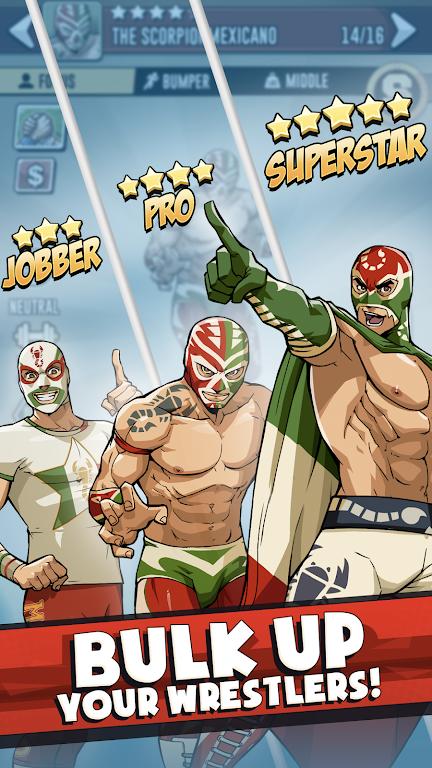 The Muscle Hustle: Slingshot Wrestling Game  poster 1