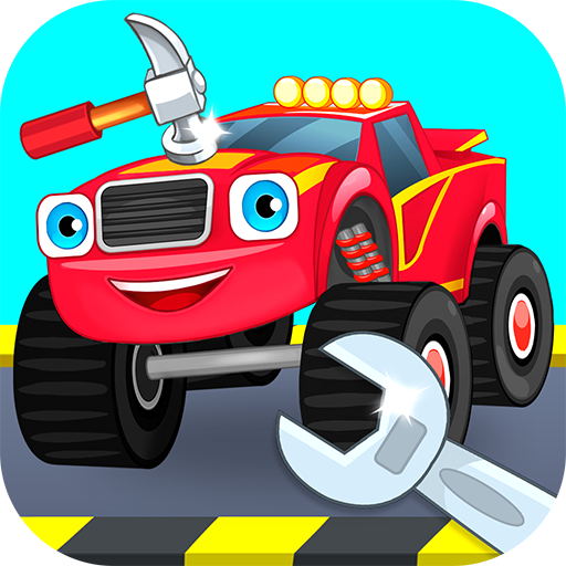 Repair machines - monster trucks