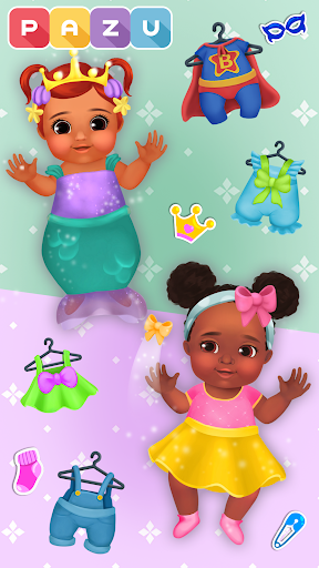 Chic Baby 2 - Dress up & baby care games for kids  screenshots 6