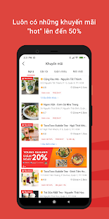 Now - Food Delivery Screenshot