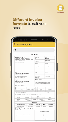 Easy Invoice Manager App by GimBooks 1.0.362 Screenshots 5