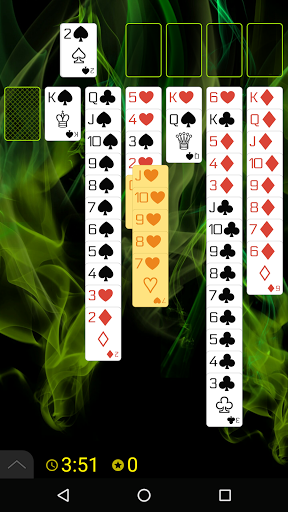 Spider Solitaire (Web rules)  screenshots 3