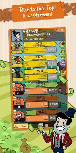 AdVenture Capitalist: Idle Money Management  screenshots 12