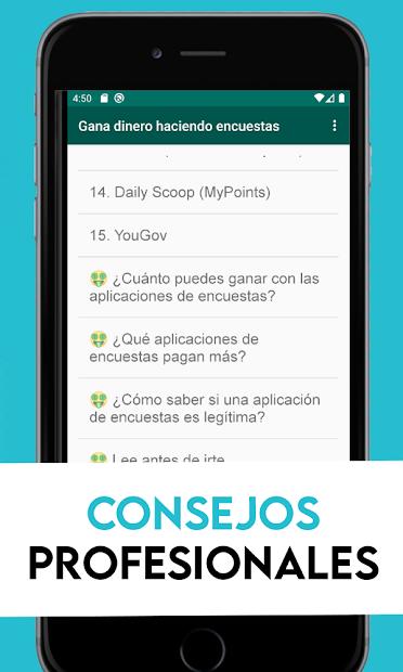 15 Apps para ganar dinero haciendo encuestas screenshot 2