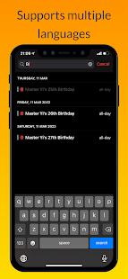 iCalendar - Calendar iOS style