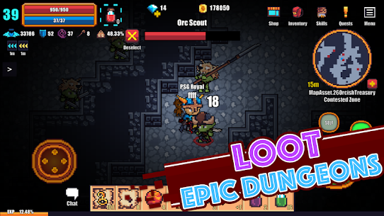 Pixel Knights Online 2D MMORPG MMO RPG 6