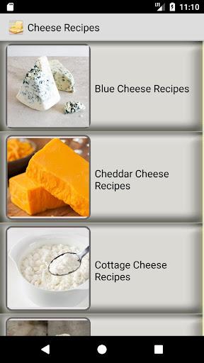 Cheese Recipes - food, healthy cheese recipes 1.3.4 screenshots 1