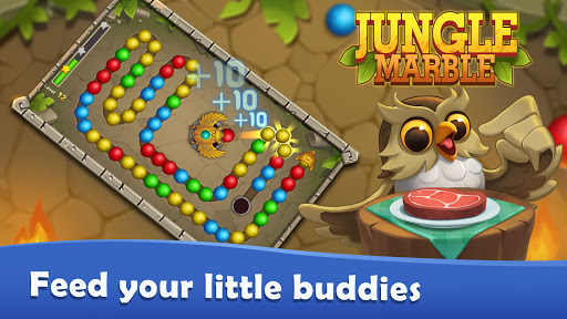 Jungle Marble Blast Lite 1.0.1 screenshots 6