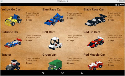 Cars in Bricks screenshots 10