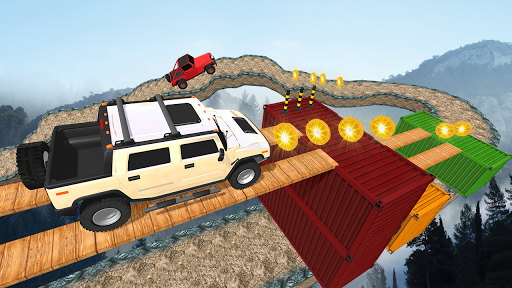 Offroad Jeep Driving Stunt 3D : Real Jeep Games apkpoly screenshots 4