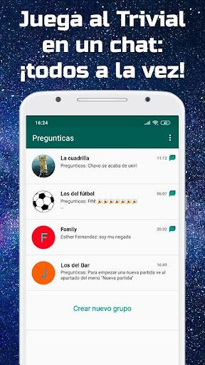 Pregunticas - el Trivial para grupos de WhatsApp 1.0.4 screenshots 1