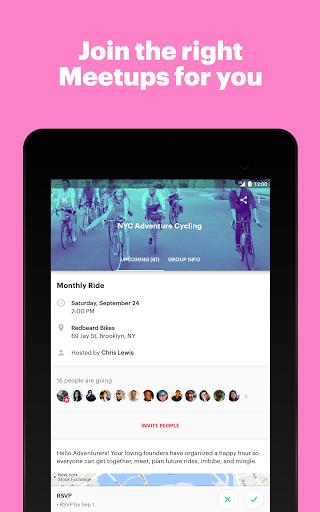 Meetup: Find events near you screenshots 6