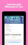 screenshot of Meetup: Find events near you