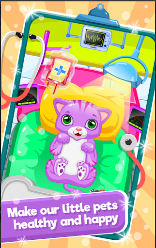 Little Cat Doctor Pet Vet Game 15.0 screenshots 1