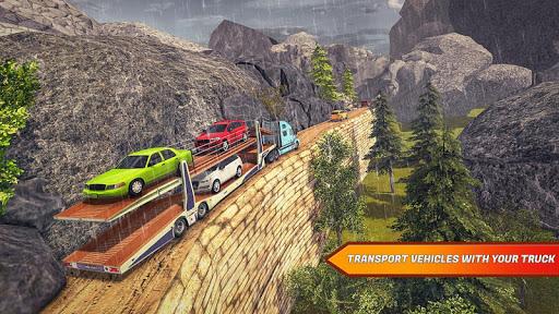 Offroad Transporter Car park  screenshots 3