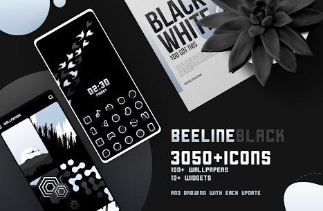 BeeLine Black IconPack Apk Download [PAID] 1