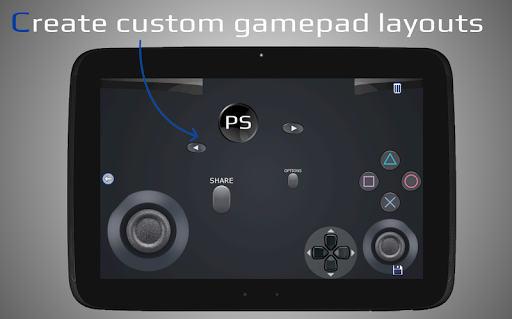 PSPad: Mobile Dualshock Gamepad for PS5/ PS4 android2mod screenshots 10