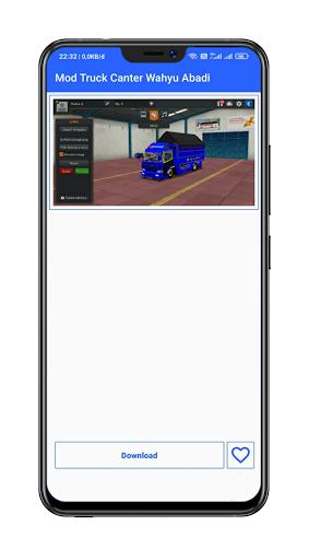 Mod Bussid Truck Wahyu Abadi : 2021 13.0 Screenshots 5