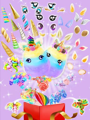 Unicorn Cotton Candy Maker - Rainbow Carnival 1.2 screenshots 3
