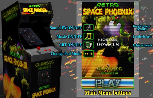 Retro Space Phoenix screenshots 23