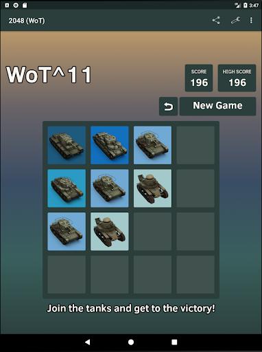 2048 (WoT) 1.17.0 screenshots 4
