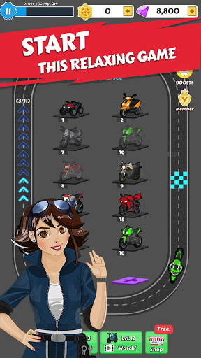 Merge Bike game Apkfinish screenshots 12