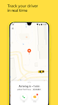 screenshot of Yandex Go — taxi and delivery