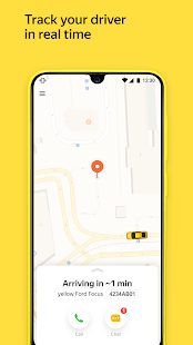 Yandex Go — taxi and delivery Screenshot