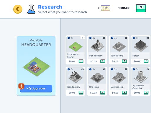Corp City: Idle Corporation Strategy Games 1.7.0 screenshots 3
