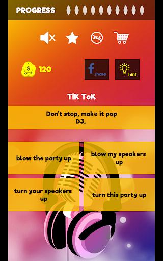 Finish The Lyrics - Free Music Quiz App 3.0.2 Screenshots 15