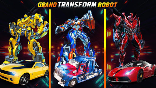 Grand Robot Car Transform 3D Game 1.35 screenshots 6