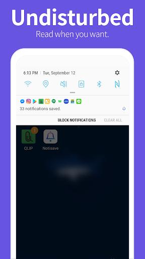 Notisave apktram screenshots 1