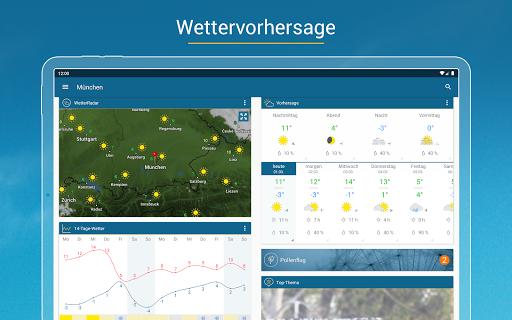 RegenRadar - mit Unwetterwarnung apktram screenshots 12