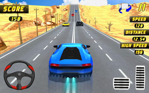 Car Racing in Fast Highway Traffic 2.1 screenshots 6