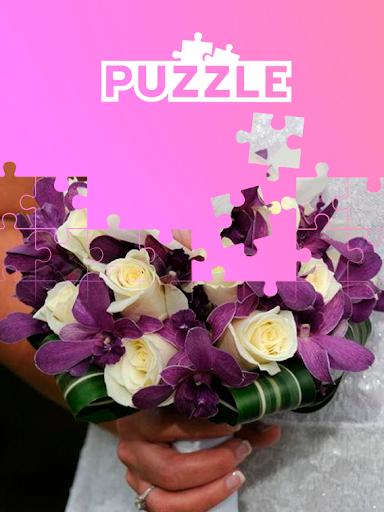 tile puzzle flowers bouquet screenshot 2
