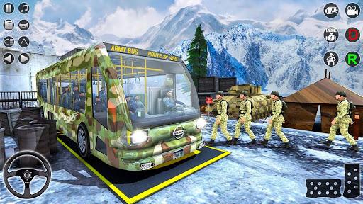 Army Bus Transporter Simulator 2020  screenshots 13