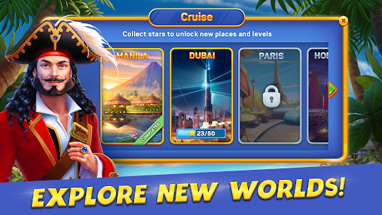 Solitaire Cruise: Classic Tripeaks Cards Games 2.5.4 4
