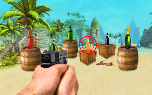 Bottle Shooting Target : Real Bottle Shooter For Android 2