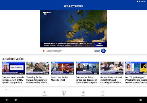 BFMTV - Actualitu00e9s France et monde & alertes info 7.2.0 Screenshots 10