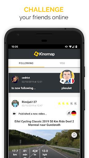 Kinomap - Indoor training videos  Screenshots 3