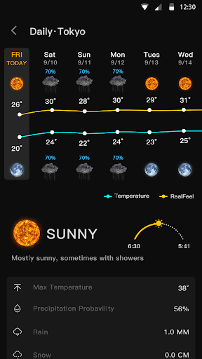 Live Weather & Accurate Weather Radar - WeaSce android2mod screenshots 7