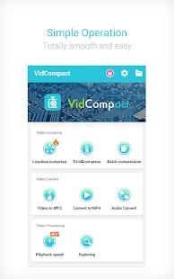 Video Compressor Mp3 Converter Screenshot