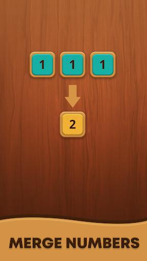 Mergezilla - Number Puzzle apkpoly screenshots 4