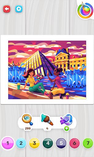 Color Stories - color journey, paint art gallery apkpoly screenshots 16