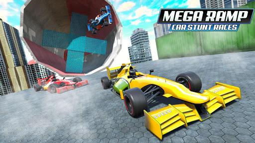 Mega Ramp Car Stunt Races - Stunt Car Games 2020 modavailable screenshots 5