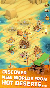 Idle Islands Empire: Building Tycoon Gold Clicker Mod Apk 1.0.7 7