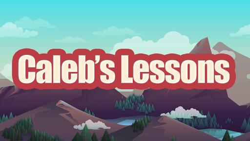 caleb's lessons screenshot 1